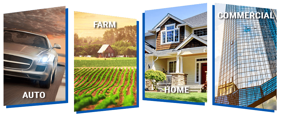 auto, farm, home and commercial insurance